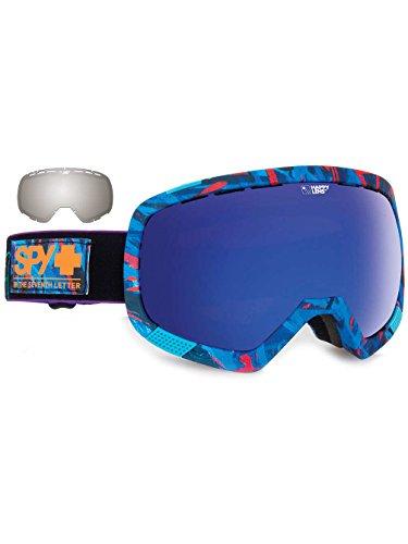 Spy Snow Goggle Platoon Bonus Lens Plus Saber, Happy Rose with Dark Blue Spectra, One Size