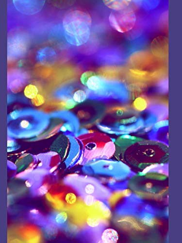 Multicolour Sequin Dotted Glam Notebook