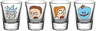 Gb Eye Ltd Rick And Morty, Faces, Shot Glasses, Various
