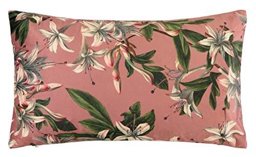 Essenza Kissen Lily I Größe 30x50 cm I Farbe Dusty Rose I Reines Polyester
