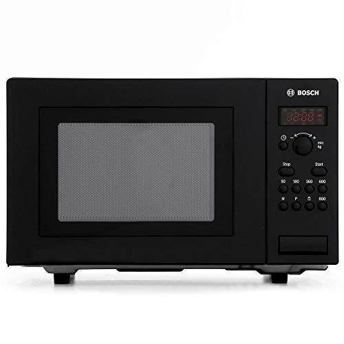 Bosch HMT75M461B Serie 2 Freestanding 800W Microwave Oven, 17 litre, Black