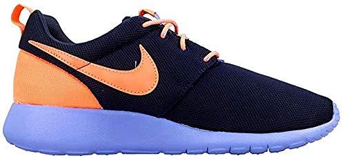 Nike Roshe One (Gs) Scarpe da Ginnastica, Unisex - Bambino, Multicolore (Obsdn/Brght Mng-Cnry-Chlk Bl), 38