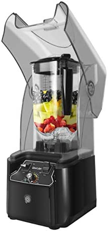 WantJoin Professional Commercial Blender With Shield Quiet Sound Enclosure 2200W Industries product image