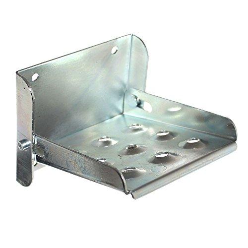 1 Metall Trittstufe klappbar Klapptritt Tritt Steighilfe für Anhänger LKW Bordwand Neu Old-Harvest