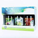 Naturège Pack Trio Bio Hépadrel Drailigne/Renfort Veineux Complément Alimentaire Minceur 3 x 250 ml