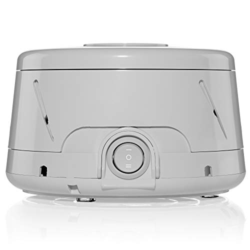 Yogasleep Dohm Classic (Gray) The Original White Noise Machine | Soothing Natural Sound from a Real Fan | Noise Cancelling | Sleep Therapy, Office Privacy, Travel | For Adults, Baby | 101 Night Trial
