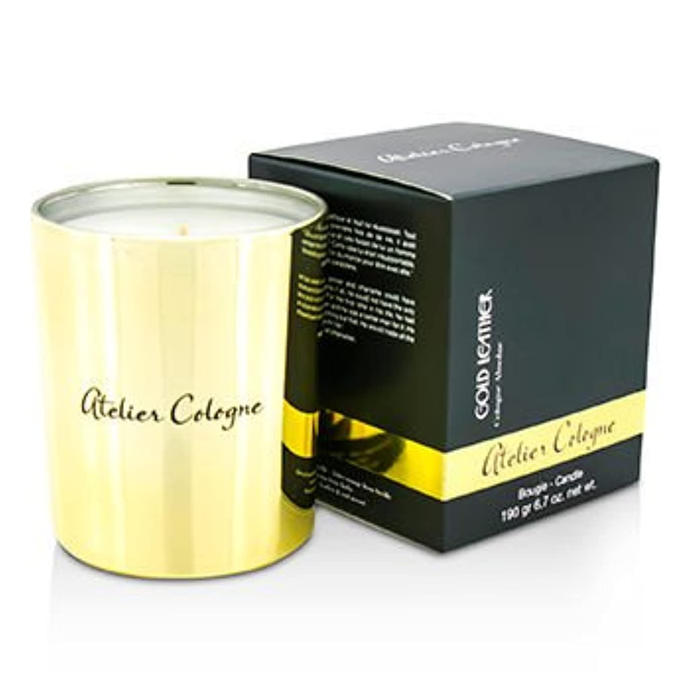 結婚するきれいに脳[Atelier Cologne] Bougie Candle - Gold Leather 190g/6.7oz