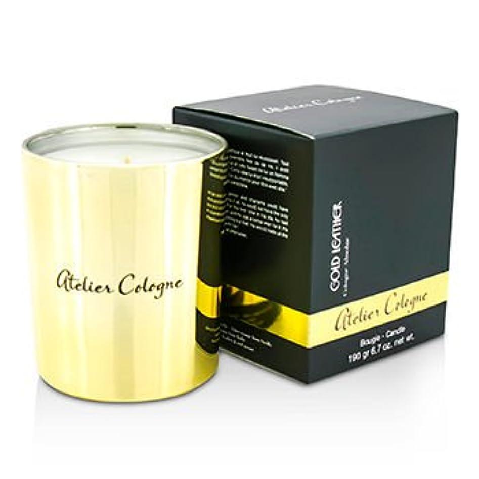 悪化させる蒸発アームストロング[Atelier Cologne] Bougie Candle - Gold Leather 190g/6.7oz