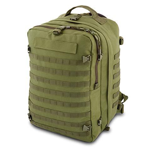 ELITE BAGS Paramed'S Sac à dos tactique de secours 36 x 46 x 26 cm – Vol: 36.7 L. vert