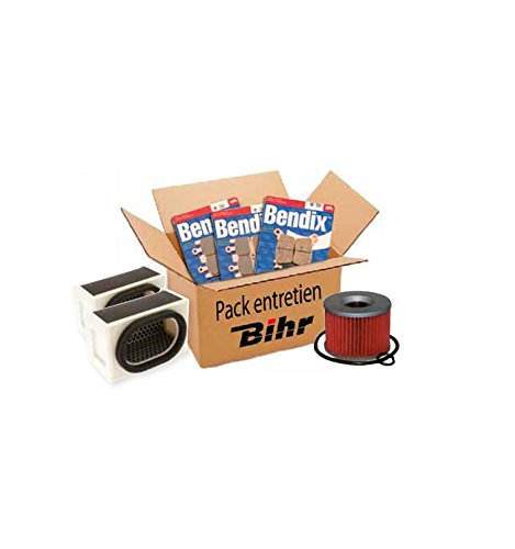 Bihr Pack entretien Honda NX650 88-92 (filtres air et huile + plaquettes Av et Ar)