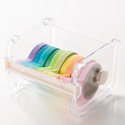 Alwayswe desktop dispenser di nastro washi tape cutter multi roll tape dispenser tape Storage box organiser