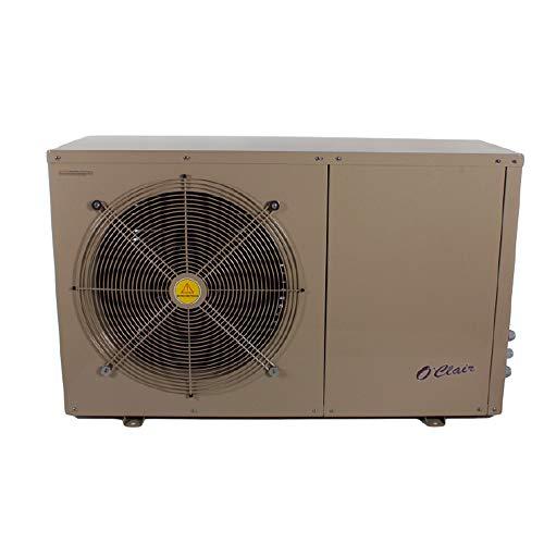 O'CLAIR Pompe à Chaleur Piscine pacfirst Steel WiFi 4.5 KW monophasée pour piscines jusqu'à 30 m³