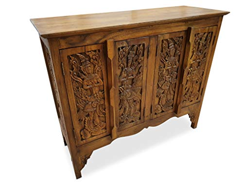 Kinaree Acacia massief houten dressoir, commode Aziatisch KINAREE II Kolonial