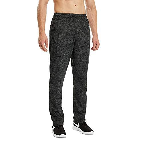 LUWELL PRO Jogging Hommes Pantalon de Sport Jogger Homme Survêtement Coton Slim Fit(1705-Dark-M)