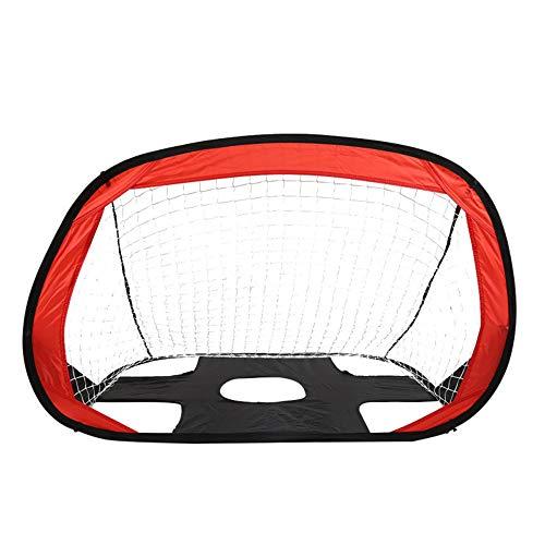 TRF Los niños de fútbol Red de la Meta, Meta niños Plegable Pop-Up de fútbol con la Bolsa de Almacenamiento - Fácil Montaje - Deportes al Aire Libre Engranaje Práctica - no Incluye la Bola