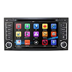 Compatible with Touareg 2004-2011 Transporter 2004-2009 T5 Multivan to 2009 7 Inch TFT digital capacitive touch screen Built-in GPS, Bluetooth, TV, iPod, RDS Support steering wheel control Support rearview camera input Support 1080P iPod; Support 3G ...