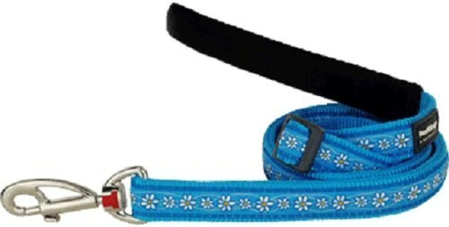 Red Dingo Lead, Daisy Chain, Turquoise, 20mm by Red Dingo