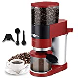 Coffee Grinder, ENZOO Conical Burr Grinder with Detachable Design for Easy Cleaning, 40 Precise...