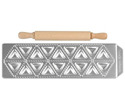 G S D Haushaltsgeräte Stampo in Alluminio per Ravioli