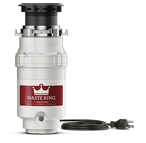 Waste King L111 Garbage Disposal with Power Cord 1/3 HP