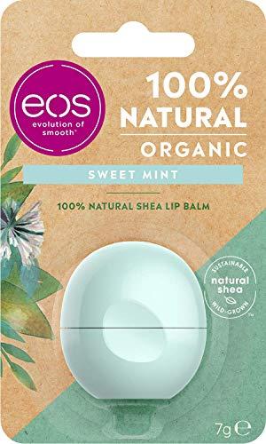EOS 100% NATURAL SHEA LIP BALM SWEET MINT 7 GR
