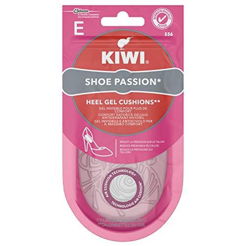 Kiwi Shoe Passion Talloniera Solette Donna in Gel Invisibile e Antiscivolo per Tacchi, Cuscinetto Ammortizzante, 1 Paio