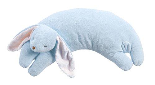 Angel Dear Blue Bunny Curved Pillow