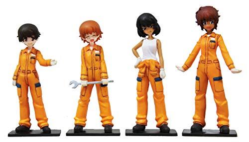 Team Figure Set 1/35 leopon's Girls & Panzer (Set of 4) (japan import)