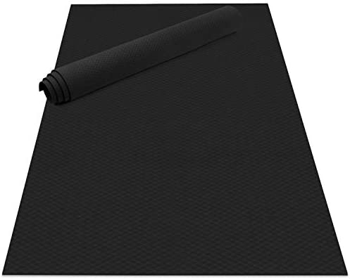 Odoland Large Yoga Mat 78 7 x 51 2 6 56 x4 26 x6mm for Pilates Stretching Home Gym Workout Extra product image