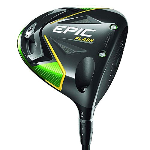 Callaway Epic Flash Driver, 9 degrees, Graphite, 6.0 (Renewed)