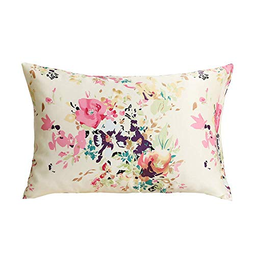 Tim & Tina 100% Pure Mulberry Luxury Silk Satin Pillowcase,Good for Skin and Hair (Queen, Beauty)