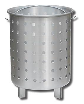 King Kooker 30FB Punched Aluminum Footed Basket OS Multi