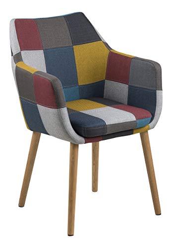 Amazon Marke - Movian Trine Stuhl, mehrfarbig, 58 x 58 x 84 cm
