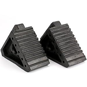 Fasmov Solid Rubber Heavy Duty Wheel Chock