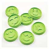 xinyawl Cortadores de Galletas, 7pcs Set Smiley Biscuit Molde Molde Decoración de Herramientas de Decoración de Galleto Galleto Moldes Bricolaje Galleta Sonriente Cara (Color : Green)