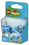 LEGO DUPLO My First - Camión Grúa, Set de Construcción de Vehículo Azul con Gancho, Juguete Recomendado para Niños y Niñas a Partir de 18 Meses (10918)