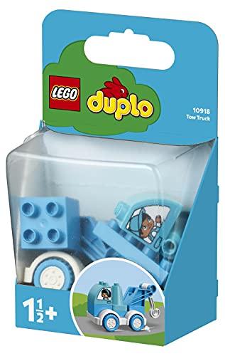 LEGO DuploMyFirst Autogrù, Set di Costruzioni per Bimbi di 1,5 Anni, 10918