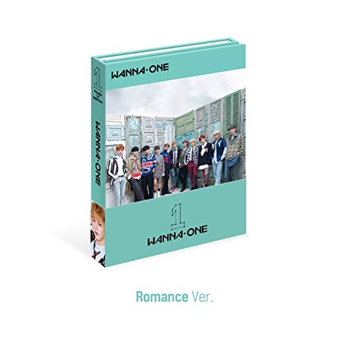 Stone Music Entertainment Wanna ONE - 1¹¹=1 Power of Destiny [Romance ver.] (Vol.1) CD+Photobook+Sticker+Photocard+Golden Ticket+Folded Poster+Extra Photocards Set