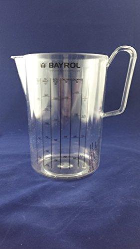 Tasse à mesurer Bayrol pour un dosage plus facile