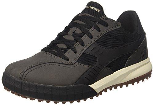 Skechers Herren Floater 2.0 Sneaker, Schwarz (Black), 42 EU