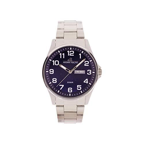 Adora Unisex Erwachsene Analog Quarz Uhr mit Edelstahl Armband AN2070