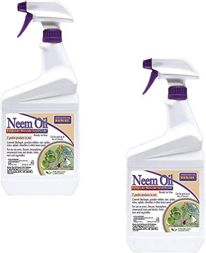 Bonide (BND022 - Ready to Use Neem Oil, Insect Pesticide for Organic Gardening (32 oz.) -...