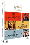 Coffret festival de cannes 3 films : a beautiful day ; the square ; mademoiselle