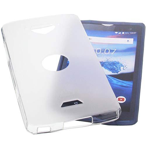 foto-kontor Hülle für CrossCall Core X3 Tasche Gummi TPU Schutz Handytasche transparent