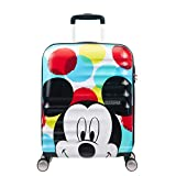 American Tourister DISNEY Wavebreaker Spinner Carry-On, Mickey Close-Up, International Carry-On (Model:85667-6978)