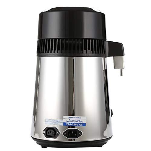 AllRight 4 L Distillateur d'eau Purificateur De Comptoir en Verre en Acier Inoxydable Filtrez l'eau avec Bouteille De Collecte