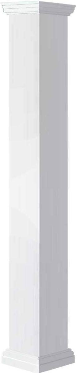 Ekena Millwork Ranking TOP5 CC0806ENPTUTU White Column Tampa Mall