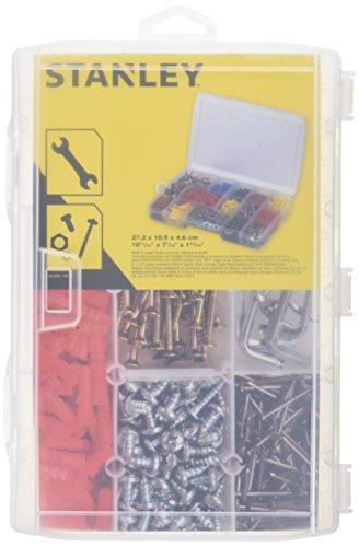 Stanley 1-92-889 Organiseur avec 17 compartiments transparent, Multicolore