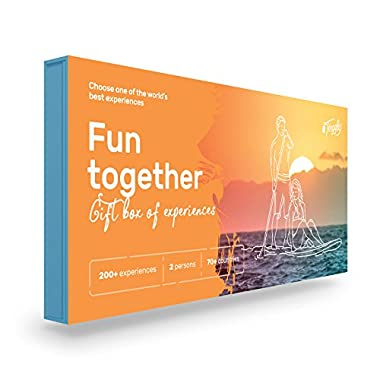 Fun Together - Tinggly Voucher for Two / Gift Card in a Gift Box