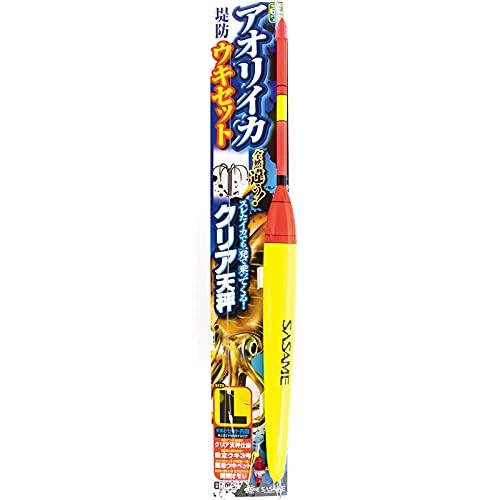 ささめ針(Sasame) I-006 アオリイカうきセット クリア天秤 #L